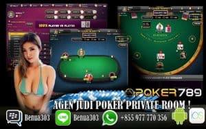 Bermain Permainan Poker Private Room Menghasilkan Uang Asli